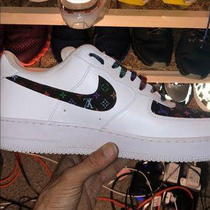 Nike x lv customs